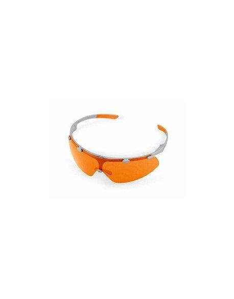 Okulary ochronne SUPER FIT pomarańczowe