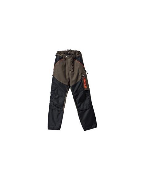 Spodnie ochronne do pracy kosą mechaniczną FS 3PROTECT, Rozm. 44