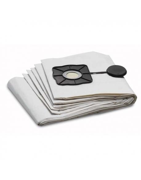 Specjalne worki filtracyjne do odkurzania na mokro