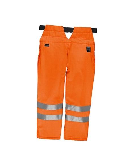 Nogawice ochronne, pomarańczowe, S-M