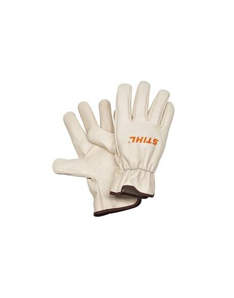 rękawice robocze ze skóry bydlęcej, rozmiar L