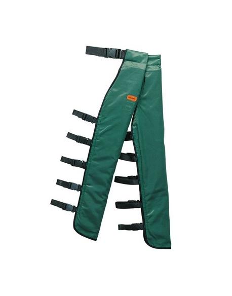 Osłona przednia nóg, zielona, L-XL