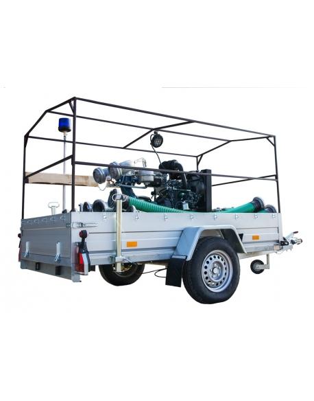 LWT 250 K - przewoźna motopompa powodziowa