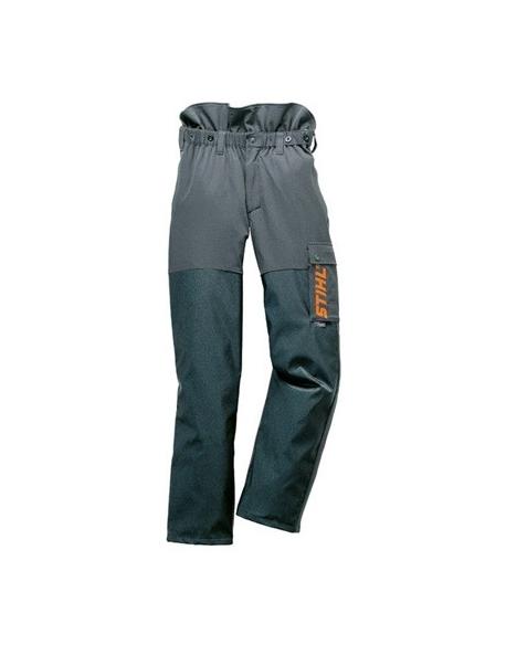 Spodnie ADVANCE antracyt/pomarańczowy, rozmiar 60
