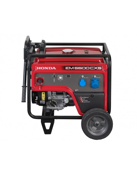 Agregat prądotwórczy Honda EM5500CXS (5,5kW 96,0kg 96dB(A))