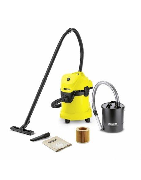 Odkurzacz Karcher WD 3  – zestaw do czyszczenia kominka
