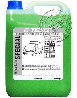 TENZI Super Green Specjal 5l - Mycie silników i karoserii pojazdów dostawczych, ciężarowych, plandek – aktywna piana