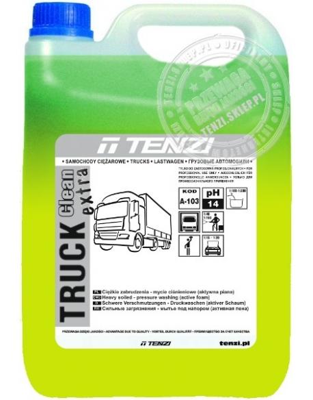 TENZI Truck Clean EXTRA 5l - Mycie pojazdów ciężarowych, plandek - silna aktywna piana