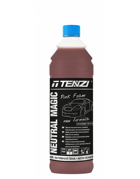 TENZI Neutral Magic Pink Foam 1l - Wysoce skoncentrowana, neutralna, kolorowa piana do mycia samochodów