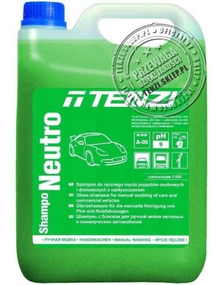 TENZI Shampo Neutro 5l - Mycie ręczne z nabłyszczaniem pojazdów