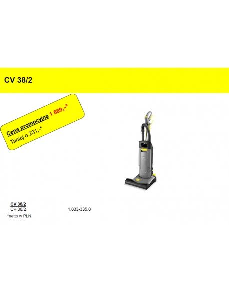 Odkurzacz szczotkowy Karcher CV 38/2 Adv