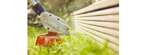 Kosa akumulatorowa dla małych ogrodów