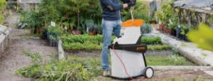 Elektryczne rozdrabniacze ogrodowe